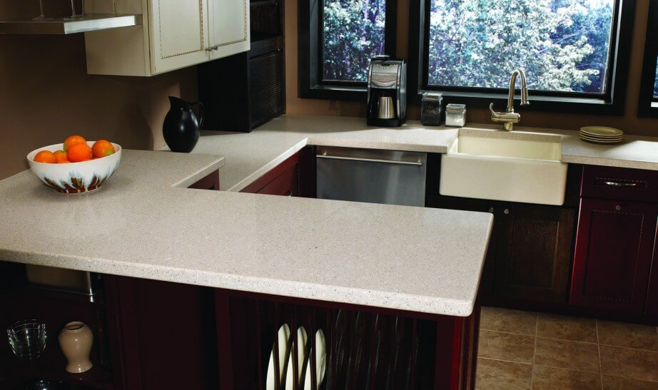 Lovely Quartz Countertops Are Incredibly Durable And Virtually Maintenance Free.  Just Use Warm Water And Mild Soap To Clean, Thereu0027s No Cost Of Upkeep Once  Itu0027s ...